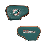 Miami Dolphins Golf Blade Putter Cover