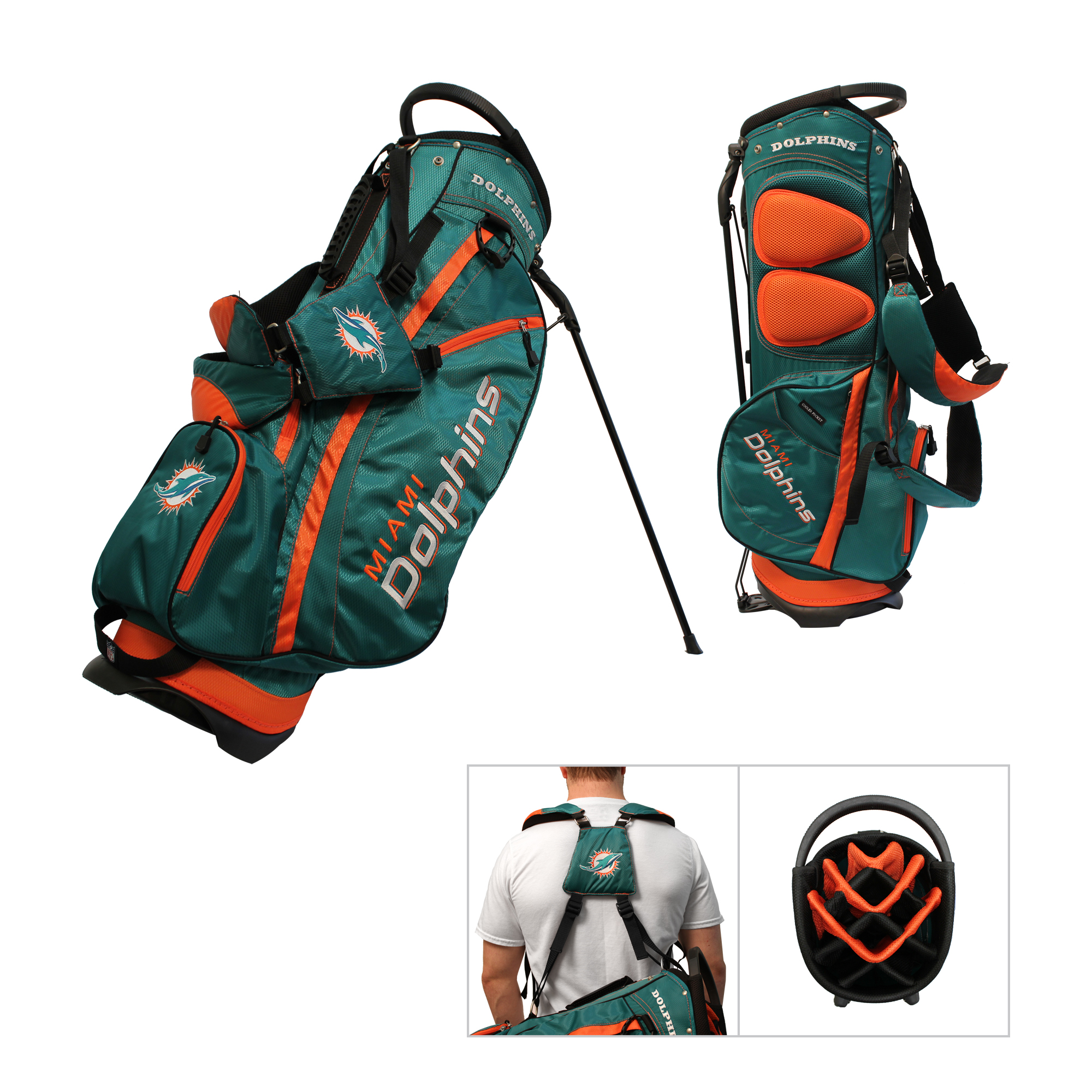 Miami Dolphins Nfl Stand Bag