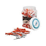 Miami Dolphins Jar of 175 Golf Tees