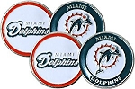 Miami Dolphins Double Sided Golf Ball Marker
