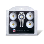 Minnesota Vikings 4 Golf Ball/Divot Tool Gift Set