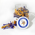 Minnesota Vikings Jar of 175 Golf Tees