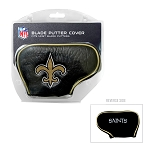 New Orleans Saints  Golf Blade Putter Cover