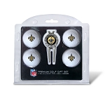 New Orleans Saints 4 golf Ball Gift Set