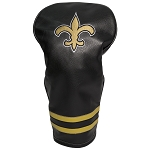 New Orleans Saints Vintage Golf Driver Head Cover