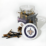 New Orleans Saints Jar of 175 golf tees