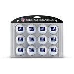 New York Giants Dozen Golf Balls
