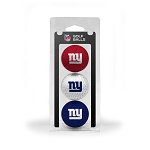 New York Giants 3 Golf Ball Clamshell