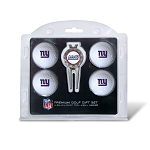 New York Giants 4 Golf Ball Gift Set