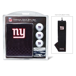New York Giants Embroidered Golf Towel Gift Set