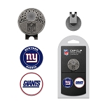 New York Giants 2 Marker Golf Cap Clip