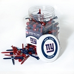 New York Giants Jar of  175 Golf Tees