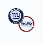 New York Giants Double Sided Golf Ball Marker
