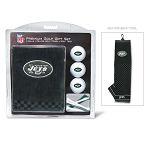 New York Jets Embroidered Golf Gift Set