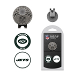 New York Jets 2 Marker Cap Clip