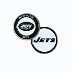 New York Jets Double Sided Golf Ball Marker