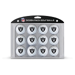 Raiders Dozen Pack Golf Balls
