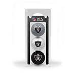 Raiders 3 Ball Clamshell