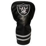 Raiders Vintage Golf Driver Head Cover
