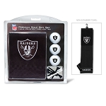Raiders Embroidered Golf Gift Set