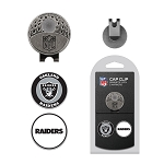 Raiders 2 Golf Marker Cap Clip