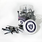 Raiders 175 Golf Tee Jar