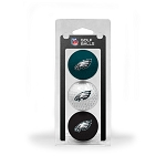 Philadelphia Eagles 3 Golf Ball Clamshell