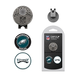Philadelphia Eagles 2 Golf Ball Marker Cap Clip