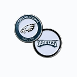 Philadelphia Eagles Double Sided Golf Ball Marker