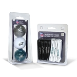 Philadelphia Eagles 3 Golf Balls/50 Golf Tees
