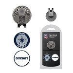 Dallas Cowboys 2 Marker Golf Cap Clip