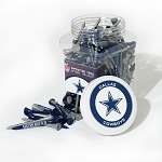 Dallas Cowboys Jar of 175 Golf  Tees