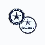 Dallas Cowboys Double Sided Golf Ball Marker