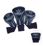 Dallas Cowboys NFL Contour Golf Head Cover Set
