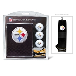 Pittsburgh Steelers Embroidered Golf Gift Set