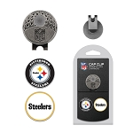 Pittsburgh Steelers 2 Golf Ball Marker Cap Clip