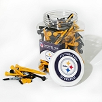 Pittsburgh Steelers 175 Golf Tee Jar