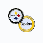 Pittsburgh Steelers Double Sided Golf Ball Marker