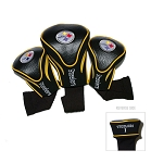 Pittsburgh Steelers NFL Contour Golf Head Covers