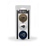 Los Angeles Rams 3 Ball Clamshell