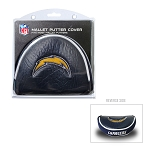 Los Angeles Chargers Mallet Putter Cover