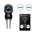 Los Angeles Chargers Divot Tool Set of 3 Markers