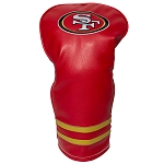 San Francisco 49ers Vintage Golf Driver Head Cover