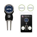 San Francisco 49ers Golf Divot Tool Set of 3 Markers
