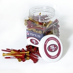 San Francisco 49ers 175 Golf Tee Jar