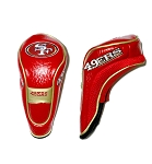 San Francisco 49ers Hybrid Golf Head Cover