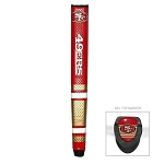San Francisco 49ers Golf Putter Grip