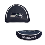 Seattle Seahawks Mallet Golf Putter Cover