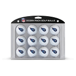Tennessee Titans Dozen Pack Golf Balls