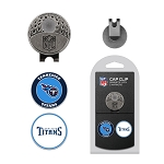 Tennessee Titans 2 Golf Ball Markers with Cap Clip